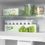 Freezer compartment shelf