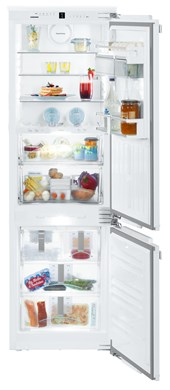 HCB 1060 Integrable fridge-freezer with BioFresh and NoFrost