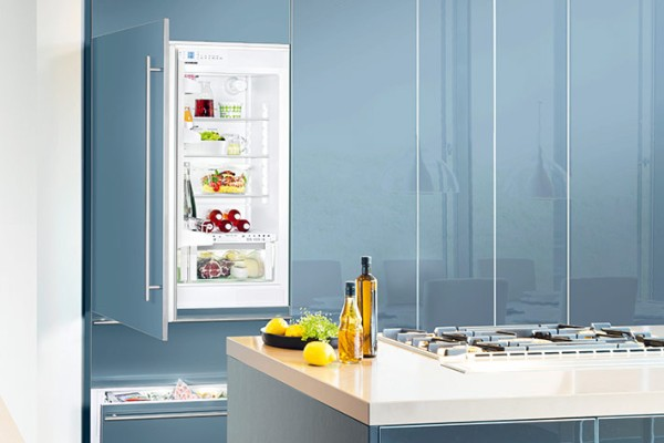 Liebherr refrigerators and freezers fit perfectly into any kitchen.