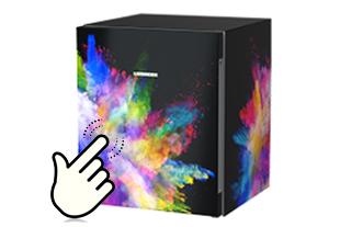 Designer Mini Kühlschrank : Kühlschrank individuell gestalten liebherr