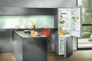 One of the test winners: The fridge/freezer combination CNP(el) 4813. Its temperature stability at high ambient temperatures was particularly convincing.