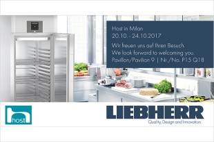 Visit us at the exhibition stand No. P15/Q18 in pavilion 9 and learn more about Liebherr Domestic Appliances.