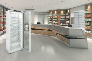 High-quality specimens and sensitive medications are stored safely at all times in Liebherr pharmacy fridges. A visual and acoustic warning system alerts the user in case of temperature deviations
