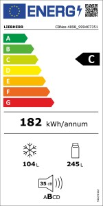 The new EU energy label. From now on the energy efficiency of electrical appliances will once again be rated on a scale from A to G.